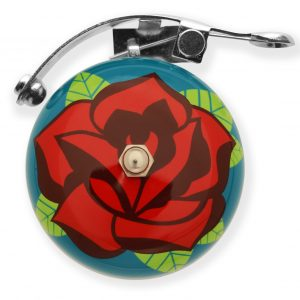 Luvelo Striker Bike Bell Rose Tattoo