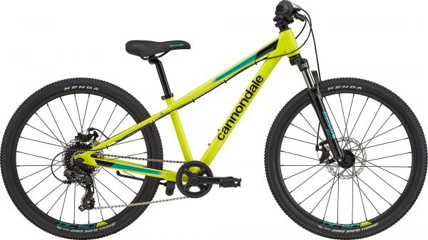 """Cannondale Kids Trail 24"""" - Nuclear Yellow"""