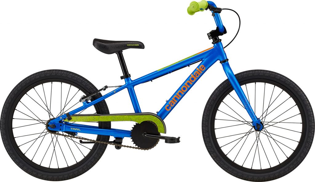 """Cannondale Kids Trail SS 20"""" - Electric Blue"""
