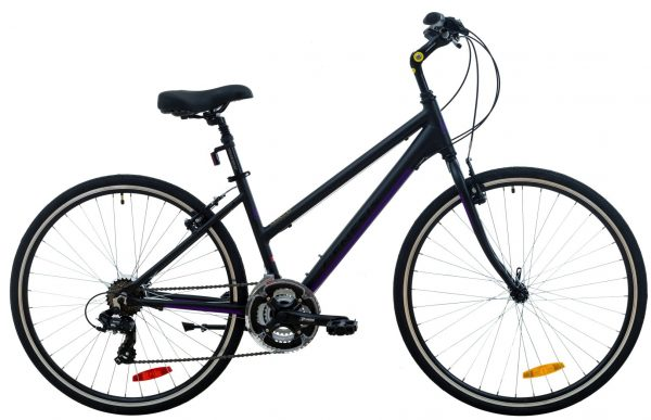 Genesis Trafik 1.0 SE Ladies - Matte Black/Purple