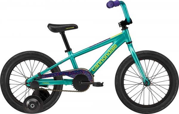 """Cannondale Kids Trail 16"""" - Turquoise"""