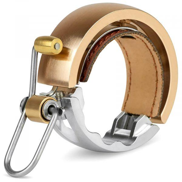 Knog Oi Luxe Bike Bell Brass