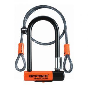 Kryptonite Evolution LITE Mini-7 + 4' Flex Cable