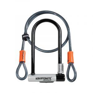 Kryptonite Kryptolok STD + 4′ Flex Cable