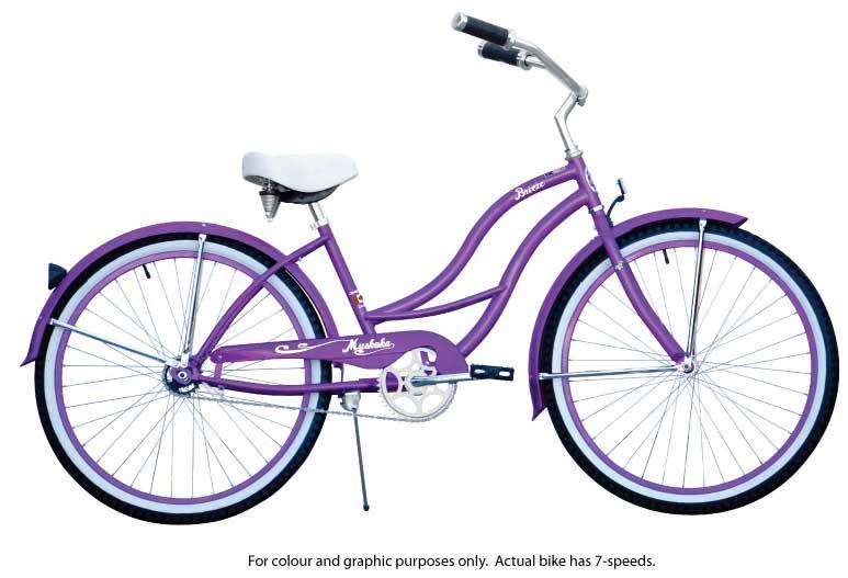 Genesis Cruiser 7 Speed - Purple