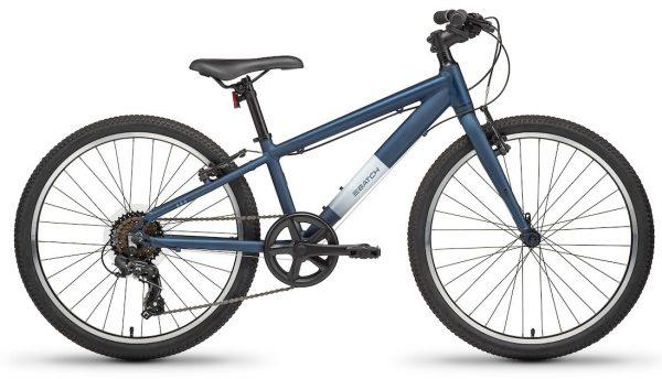 """Batch Youth 24"""" Lifestyle Bike - Matte Pitch Blue"""