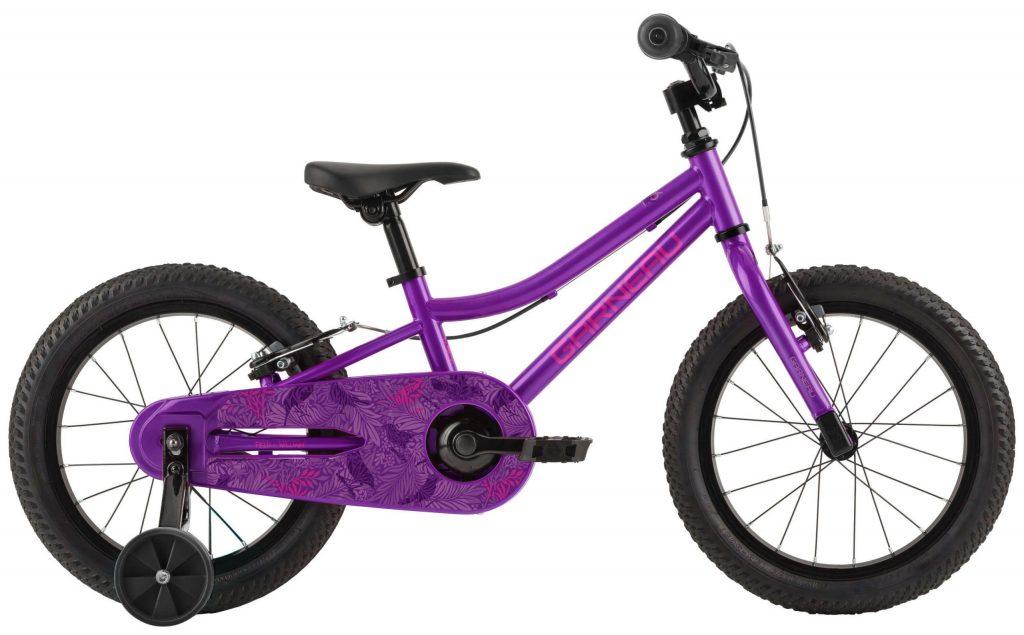 Louis Garneau F-16 Kids Bike - Floral Purple