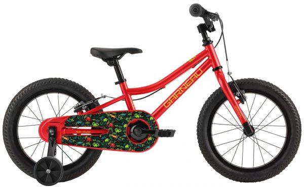 Louis Garneau F-16 Kids Bike - Dinosaurs (Red)